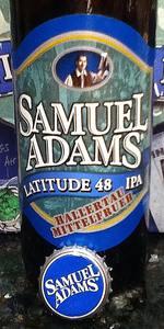 Samuel Adams Latitude 48 Deconstructed IPA - Hallertau Mittelfrueh