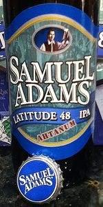 Samuel Adams Latitude 48 Deconstructed IPA - Ahtanum