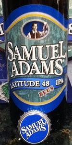 Samuel Adams Latitude 48 Deconstructed IPA - Zeus
