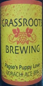 Grassroots Papsø's Puppy Love Sorachi Ace IIPA