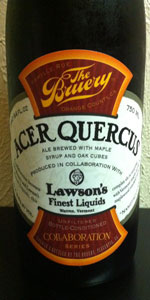 Acer Quercus - The Bruery / Lawson's Finest Liquids Collaboration