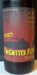 Forgotten Flem Farmhouse Ale