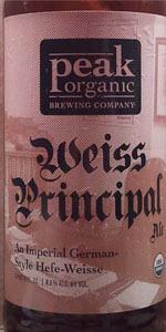 Peak Organic Weiss Principal Imperial Hefe