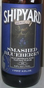 Pugsley's Signature Series:  Smashed Blueberry