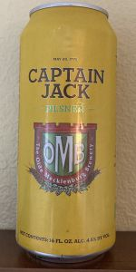 Captain James Jack Pilsner