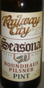 Railway City Roundhaus Pilsner