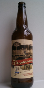 Winter Ale (2012) / 5th Anniversary Ale