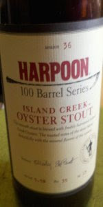 Harpoon 100 Barrel Series #36 - Island Creek Oyster Stout