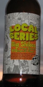 Big Shikes Orange Blossom Imperial Pilsener