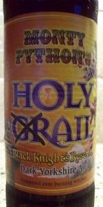 Monty Python's Holy Grail Ale Black Knight's Reserve