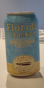 Florida Cracker White Ale