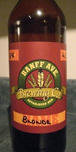 Banff Ave Blonde Ale