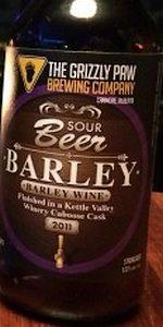 Sour Barley Wine