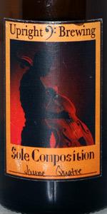 Jaune Quatre (Sole Composition Series) - Gin Barrel Aged