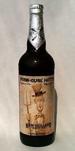 New Holland Farmhouse Hatter Belgian IPA