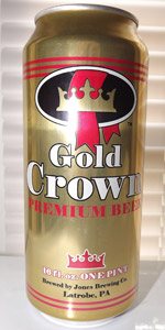 Gold Crown Premium Beer