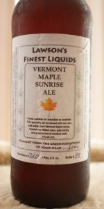 Vermont Maple Sunrise Ale