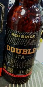 Red Brick Brick Mason Series #2: Double IPA