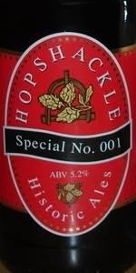 Hopshackle Special No. 001 Bitter