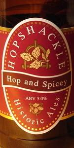 Hopshackle Hop And Spicey