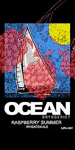 Ocean Raspberry Summer Wheaten Ale
