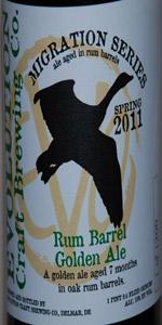 Rum Barrel Golden Ale (Spring Migration)
