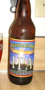 Boundary Bay Inside Passage Ale (IPA)