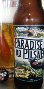 Paradise Rd Pilsner