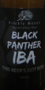 Prickly Moses Black Panther IBA