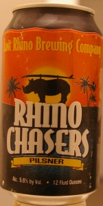 Rhino Chasers Pilsner