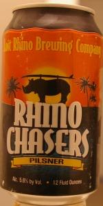 Rhino Chasers Pilsner
