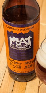 Moat Barley Wine Style Ale