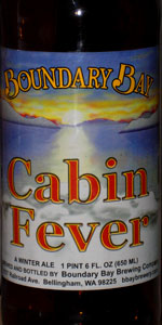 Cabin Fever Winter Ale