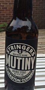 Mutiny Double Stout