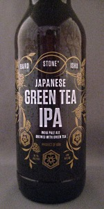 Baird / Ishii / Stone Japanese Green Tea IPA