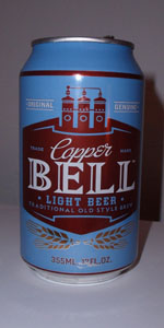 Copper Bell Light Beer