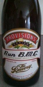Provisions Series: Run B.M.C.