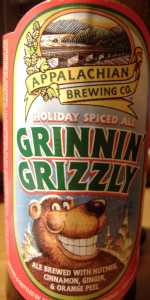 Grinnin' Grizzly Spiced Ale