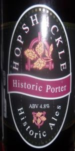 Hopshackle Historic Porter