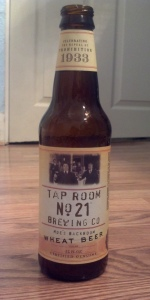 Tap Room No. 21 Brewery Wheat Beer