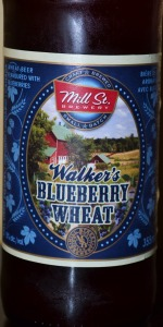 Mill Street Walker's Blueberry Wheat