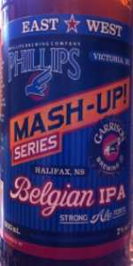 Garrison / Phillips Mash-Up! Belgian IPA