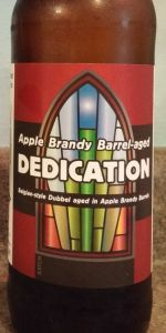 Dedication - Apple Brandy Barrel Aged