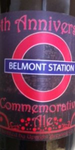Belmont Station 14th Anniversary Ale