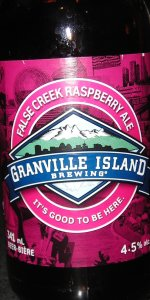 False Creek Raspberry Ale