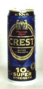 Crest Super Premium Lager
