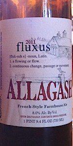 Allagash Fluxus 2011