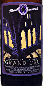 Black Diamond Brandy Barrel Grand Cru