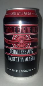 Single Engine Red