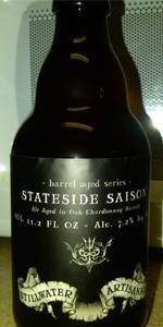 Stateside Saison - Chardonnay Barrel Aged